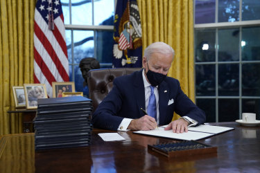 President Joe Biden reversed many Trump administration policies in his first days in office, including setting up the US to formally rejoin the Paris Climate Agreement 77 days after the country left it.