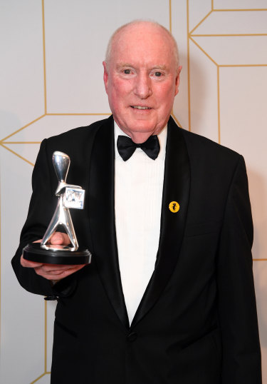 Alf (Ray Meagher) took home the only Logie the Seven Network won.