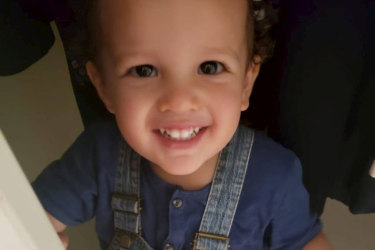 Two-year-old isaac Oehlers was killed in the blast.