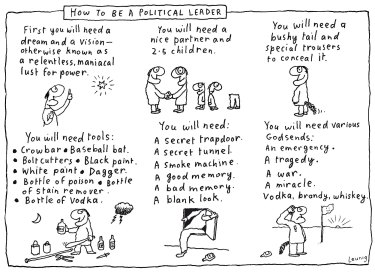How to be a political leader