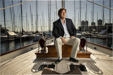 Will Vicars, a reclusive Sydney millionaire, stepped into the spotlight following his purchase of Oroton.