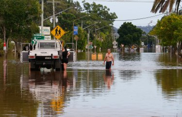 Flooding in Lismore, NSW, in April 2017:  a wetter-than-average spell is expected in coming months as climate drivers including a La Nina tip the odds towards rain.