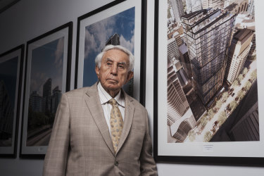 Australia's second richest man, Harry Triguboff, has been critical of the NSW planning system.