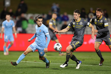 Melbourne City will face Sydney FC in the Grand Final.
