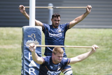 The Brumbies will play their first trial game at Viking Park.