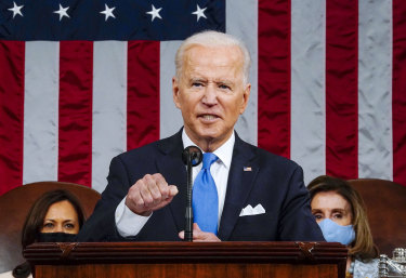 President Biden has unleashed his spending plans with breathtaking speed.