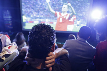 A look at the future: TV rights have caused problems around the world during the tournament.