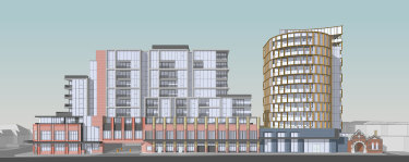 Architectural plans for the proposed development in Elsternwick.