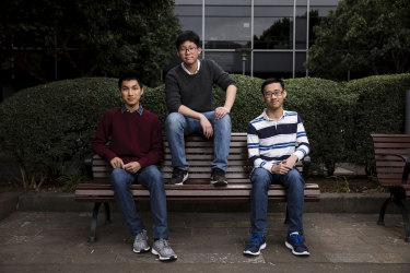 Selective school students Matthew Tsang, Rodger Liang and Edwin Lam are writing a story about selective schools for their school paper.