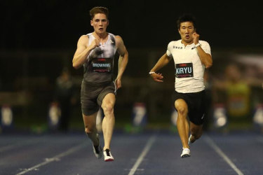 Striving for success: Rohan Browning (left) is hoping for glory this weekend.