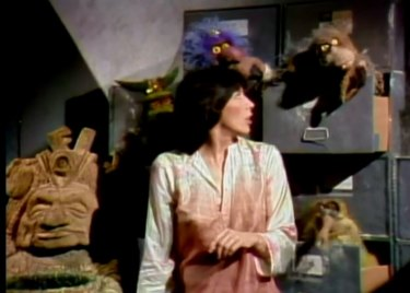 Lily Tomlin and 'stoner' Muppets in a 1975 episode of Saturday Night Live.