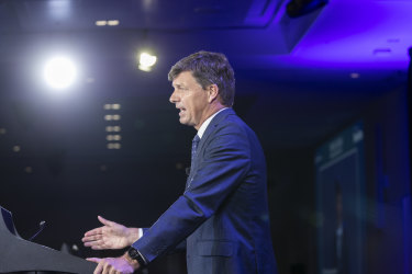 Energy and Emissions Reduction minister Angus Taylor has insisted that Australia is on course to meet its 2030 Paris targets.