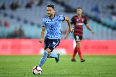 True blue, Sky Blue: Milos Ninkovic wants to finish his career with Sydney FC.