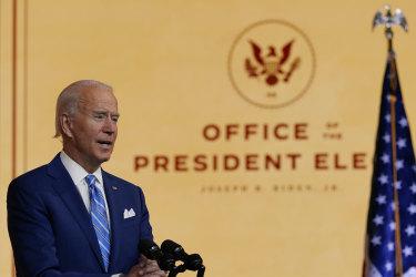 Joe Biden is setting up his team despite Donald Trump's refusal to publicly concede.