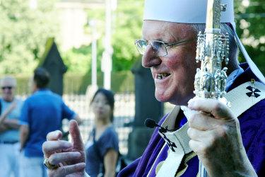 Archbishop Denis Hart will be 77 next month.