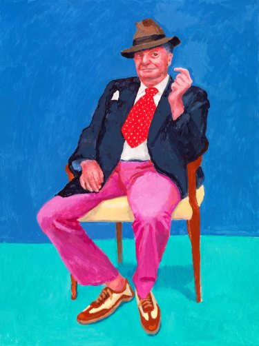Courtesy David Hockney/National Gallery of Victoria.