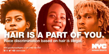 New York City is taking on hair discrimination.