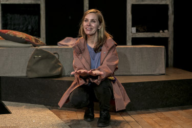 Lucy Bell is brittle and beautiful as the disorientated mother.