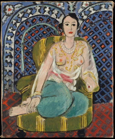 Henri Matisse,Seated odalisque,1926.
