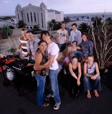 The suburb of St Kilda had a starring role in The Secret Life of Us, but the show was meant to be set in Bondi.