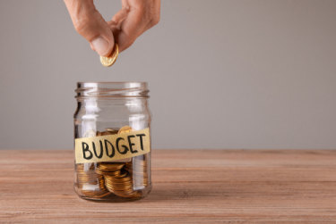 Budgets help keep a plan of upcoming expenses, as well as ensure that profit isn't turning into loss.