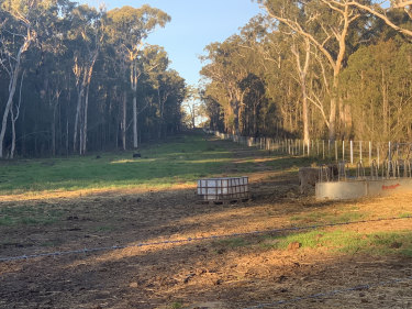The site near Jervis Bay has now been cleared up and is ready to run stock or other farm activities on.