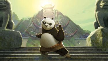 Kung Fu Panda on Stan.