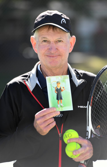 Jim Joyce, Ashleigh Barty's first tennis coach.