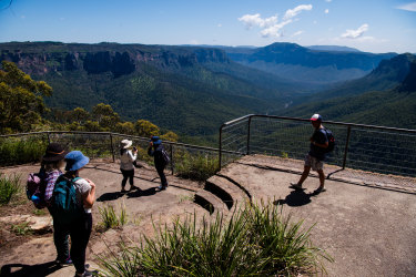 The Berejiklian government plans to spend as much as $400 million on the state's national parks over three years to boost access and aid the recovery from last summer's devastating bushfires.