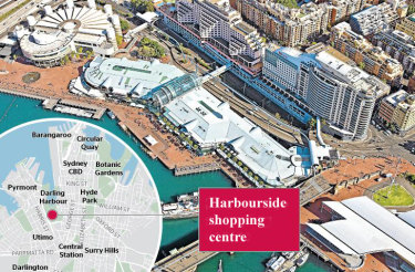 Business groups are pushing for a new transport hub, including a rail station, underneath a rebuilt shopping complex on the western shore of Darling Harbour.