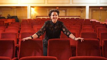 Opera singer Liane Keegan, who stars as Judy Garland.
