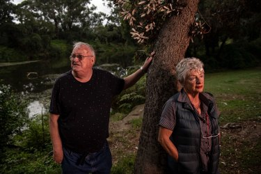 Sharyn Cullis and John Anderson have been fighting to raise attention to what they see are unacceptable risks of pollution from PFAS chemicals leaking from the former Defence site at Moorebank.