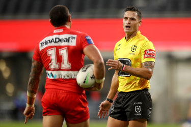 Bunker official Henry Perenara will not referee a match this weekend.