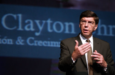 Clayton Christensen is particular about the definition of disruption.