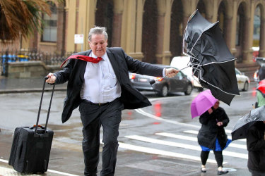 Watch out for warnings of wild weather expected to be updated for Sydney and eastern NSW on Thursday.
