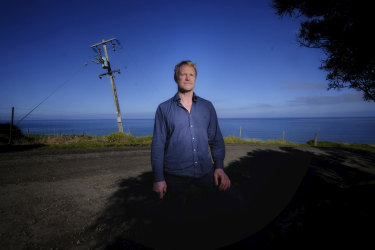 Warrick Ballinger is installing diesel generators at his holiday units in Apollo Bay.