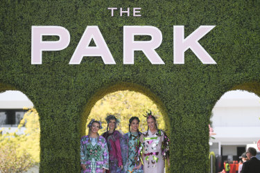 The Park entertainment zone at Flemington Racecourse will keep punters engaged away from the turf.