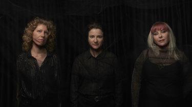 Plaster of Paris, from left, Nicola Bell, Sarah Blaby and Zec Zechner.