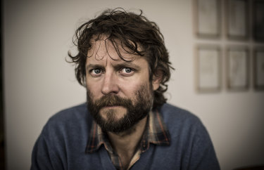 Artist Ben Quilty, pictured in 2018, is leading a campaign to raise money for the people of Afghanistan.