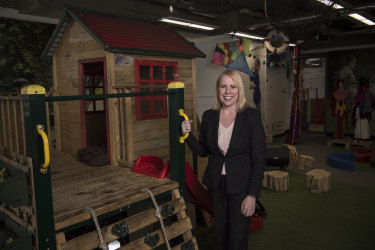 The Hills Shire mayor Michelle Byrne wants childcare centres built in appropriate locations.
