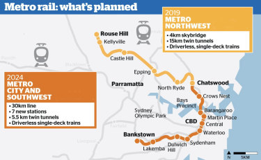 The Metro Northwest line is due to be completed next year, and will show off a new 4km skybridge, while the Metro City and Southwest line will add 30km of rail to the network, as well as 7 new stations.