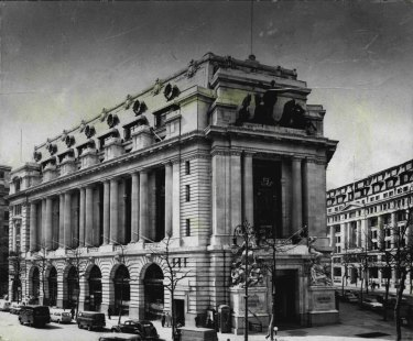 Australia House in London, pictured in 1963.