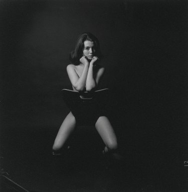 Christine Keeler, 1963, in the famous Lewis Morley photograph.