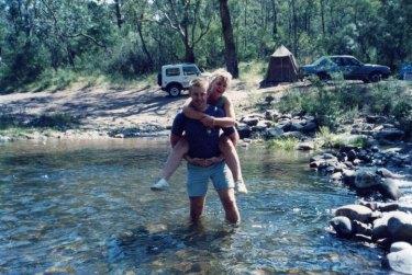Kerry Norton with her husband Richard.