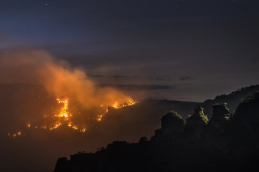 Last summer's bushfires burnt through almost three-quarters of the greater Blue Mountains area.