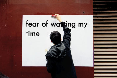 Cherine Fahd, wasting time from the series Fear of2011/2019.