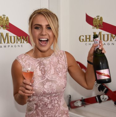 Popping corks: Myer's hiring of former reality television star Elyse Knowles has ruffled feathers.