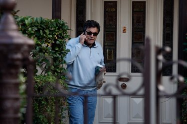 Australian barrister Evatt Tamine at his Balmain residence in May 2020.