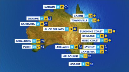 National weather forecast for Friday, October 30