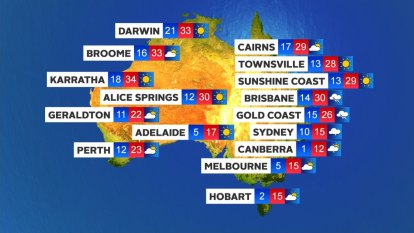 Wintry weather returns to NSW